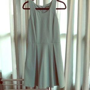 NWOT The Letter Aquamarine Ponté Knit Dress